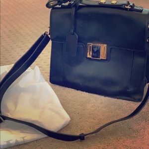 Badgley Mischka Claire Satchel (Authentic)